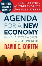 Agenda for a New Economy 2nd edition cover